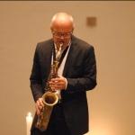 Jazzkonzert mit Saxophonist Peter Materna und Pianist Sebastian Sternal 2017 © Marcus Gastreich